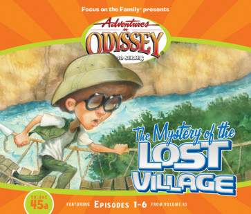 The Mystery of the Lost Village - CD-Audio