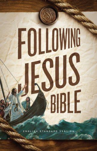 ESV Following Jesus Bible - Softcover Multicolor
