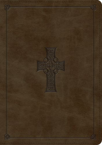 ESV Large Print Wide Margin Bible  - Imitation Leather With ribbon marker(s)