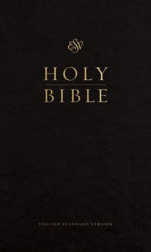 ESV Pew Bible (Black) - Hardcover