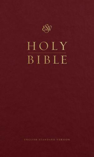 ESV Pew Bible (Burgundy) - Hardcover