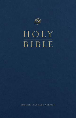 ESV Premium Pew and Worship Bible (Blue) - Hardcover