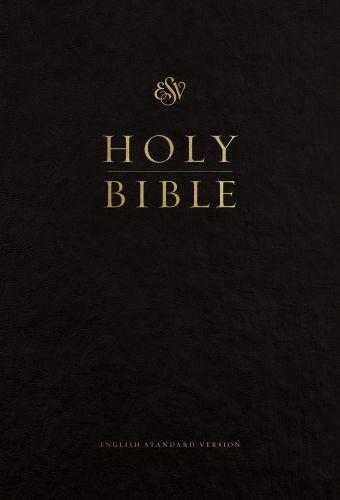 ESV Pew and Worship Bible, Large Print (Black) - Hardcover