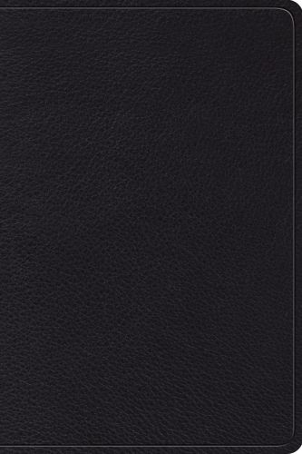 ESV Gospel Transformation Study Bible: Christ in All of Scripture, Grace for All of Life (Black) - Leather / fine binding With ribbon marker(s)