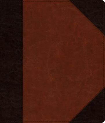ESV Journaling Bible (TruTone, Brown/Cordovan, Portfolio Design) - Imitation Leather With ribbon marker(s)