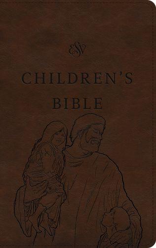 ESV Children's Bible (TruTone, Brown, Let the Children Come Design) - Imitation Leather With ribbon marker(s)