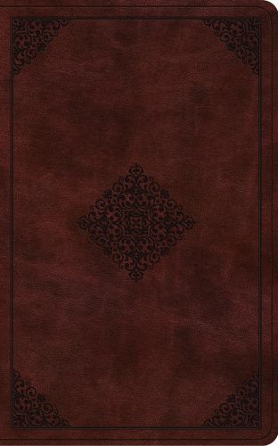 ESV Vest Pocket New Testament with Psalms and Proverbs (TruTone, Burgundy, Ornament Design) - Imitation Leather