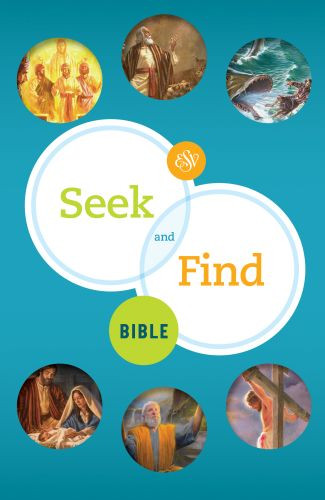 ESV Seek and Find Bible - Hardcover Multicolor With ribbon marker(s)