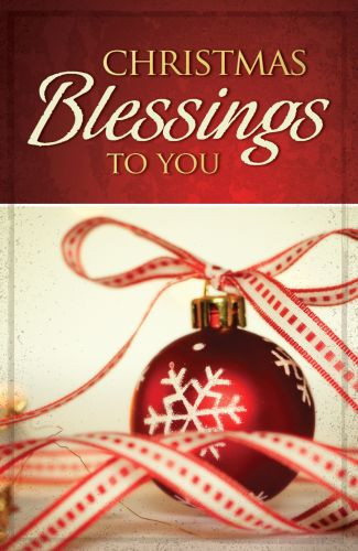 Christmas Blessings to You  - Pamphlet
