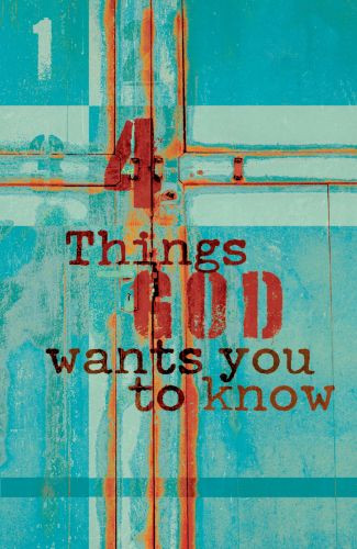 4 Things God Wants You to Know  - Pamphlet