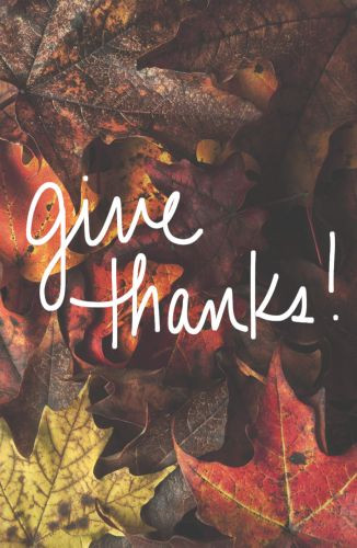 Give Thanks!  - Pamphlet