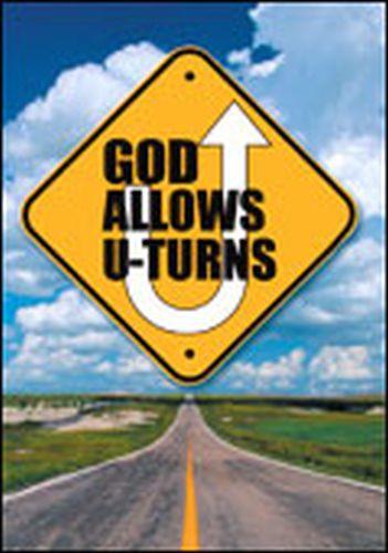 God Allows U-Turns  - Pamphlet
