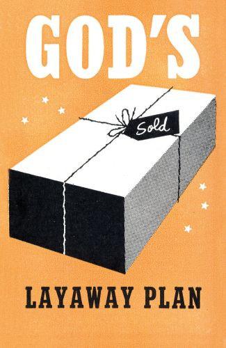 God's Layaway Plan  - Pamphlet