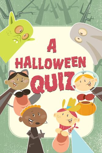 A Halloween Quiz  - Pamphlet