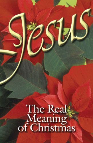 Jesus, The Real Meaning of Christmas (ATS)  - Pamphlet