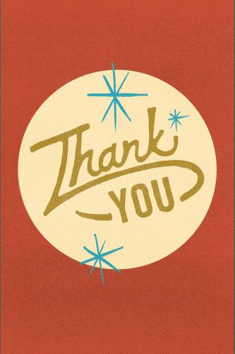 Thank You  - Pamphlet
