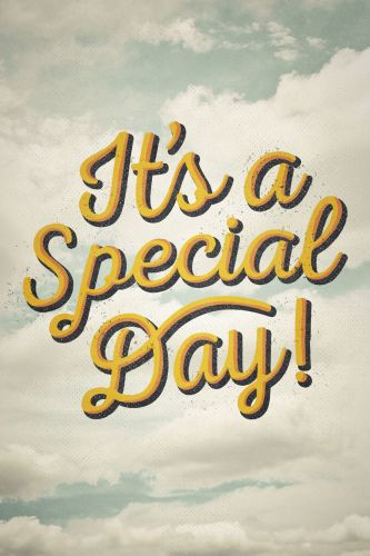 It's a Special Day!  - Pamphlet