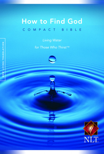 How to Find God Compact Bible NLT - Softcover