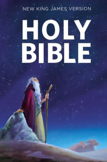 NKJV, Children's Outreach Bible, Softcover - Softcover