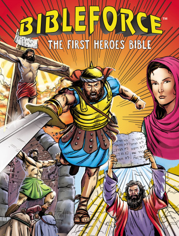 BibleForce - Hardcover With ribbon marker(s)
