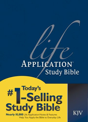 KJV Life Application Study Bible, Second Edition (Red Letter, Hardcover) - Hardcover With printed dust jacket