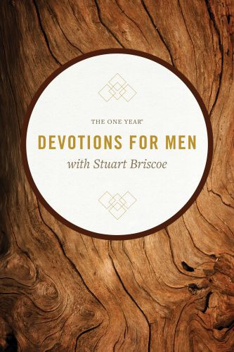 The One Year Devotions for Men with Stuart Briscoe - Softcover