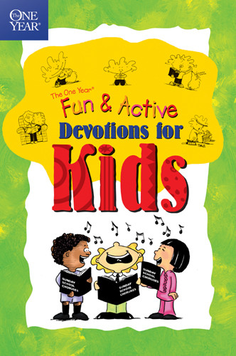 The One Year Fun & Active Devotions for Kids - Softcover