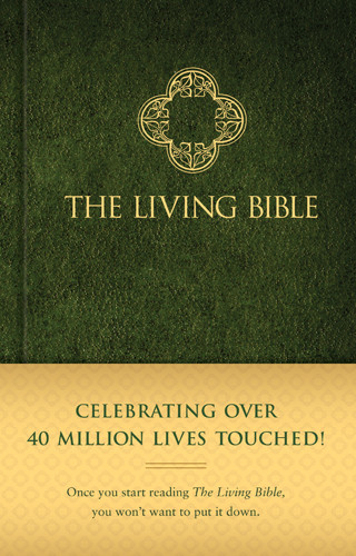 The Living Bible (Hardcover, Green) - Hardcover Green