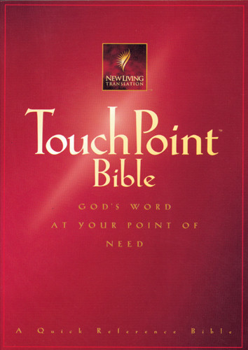 TouchPoint Bible NLT - Softcover Red