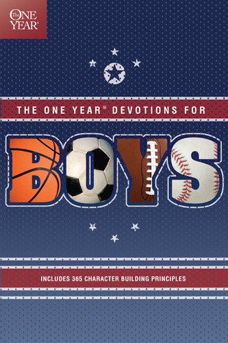 The One Year Devotions for Boys - Softcover