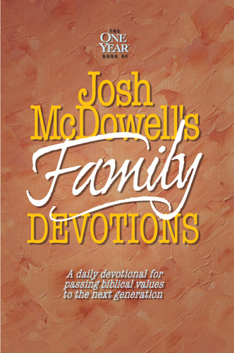The One Year Book of Josh McDowell's Family Devotions - Softcover