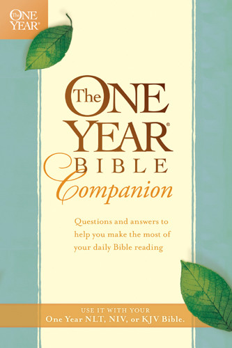 The One Year Bible Companion - Softcover