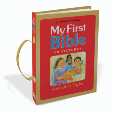 My First Bible in Pictures, With Handle - Hardcover