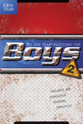 The One Year Devotions for Boys 2 - Softcover