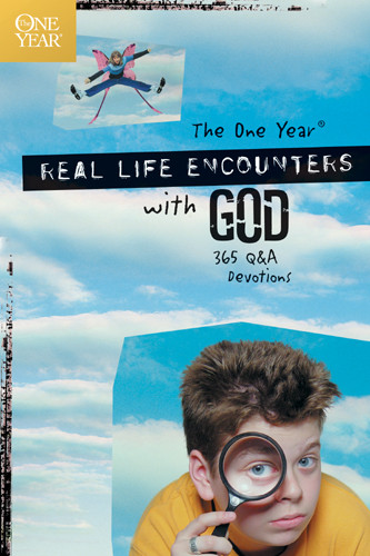 The One Year Real Life Encounters with God - Softcover