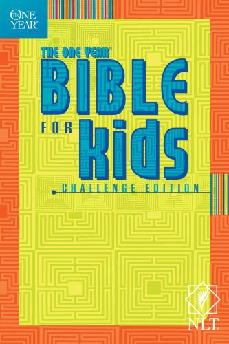 The One Year Bible for Kids, Challenge Edition NLT - Softcover