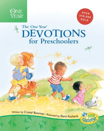 The One Year Devotions for Preschoolers - Hardcover Sewn