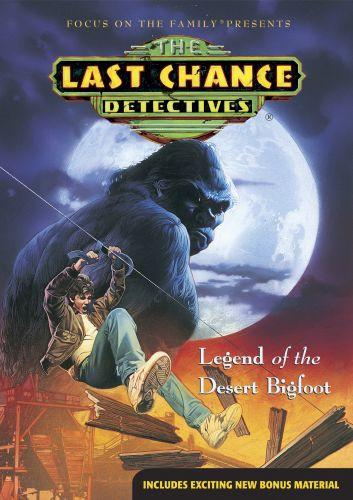 Legend of the Desert Bigfoot - DVD video