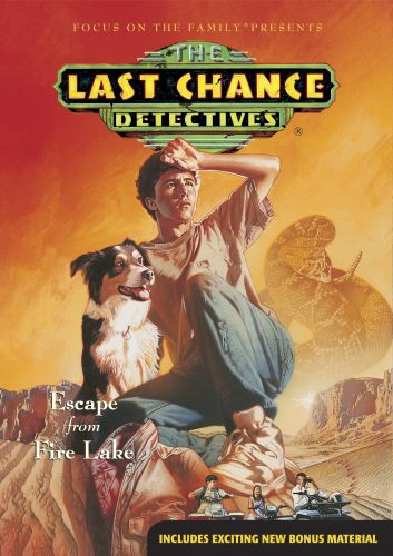 Escape from Fire Lake - DVD video