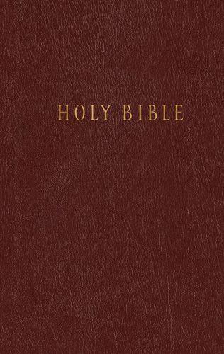 Pew Bible NLT (Hardcover, Burgundy/maroon) - Hardcover Burgundy