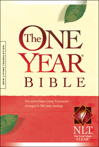 The One Year Bible Compact Edition NLT - Hardcover
