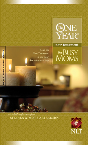 The One Year New Testament for Busy Moms NLT (Softcover) - Softcover