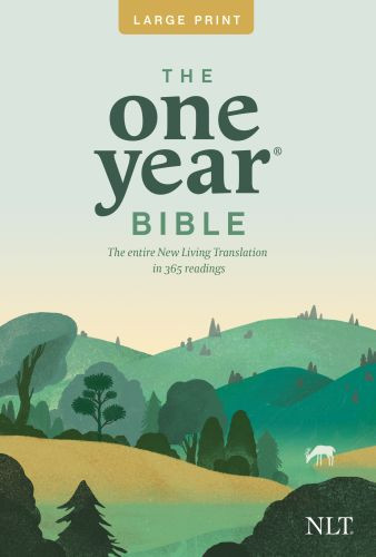 The One Year Bible NLT, Premium Slimline Large Print edition (Softcover) - Softcover