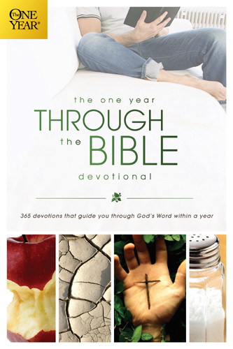 The One Year Through the Bible Devotional - Softcover