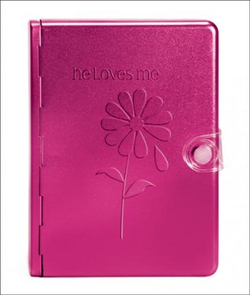 Metal Bible NLT: He Loves Me (Metal, Pink) - Other book format Pink