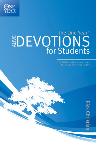 The One Year Alive Devotions for Students - Softcover