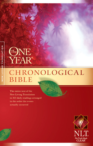 The One Year Chronological Bible NLT (Softcover) - Softcover