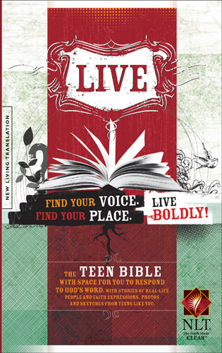 Live NLT (Softcover) - Softcover