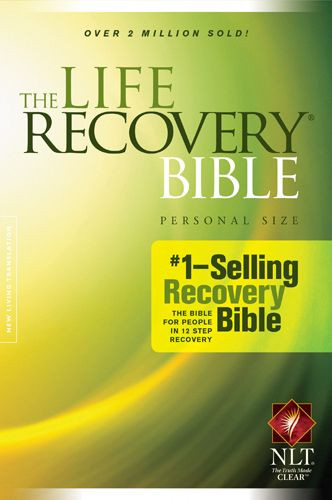 The Life Recovery Bible NLT, Personal Size - Softcover