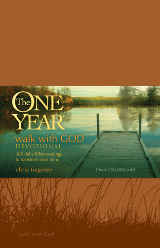 The One Year Walk with God Devotional - LeatherLike